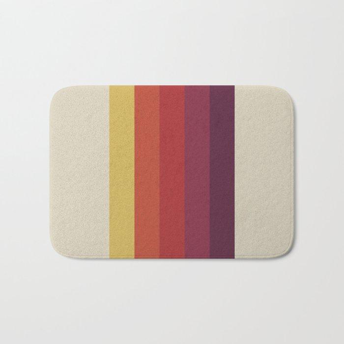 Retro Video Cassette Color Palette Bath Mat