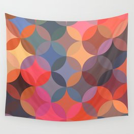 Moroccan pattern multicolor Wall Tapestry