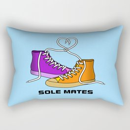 Sole Mates Rectangular Pillow