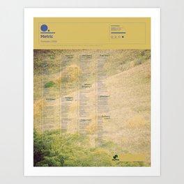 The Visual Mixtape 2010 | Fantasies | 16 / 25 Art Print