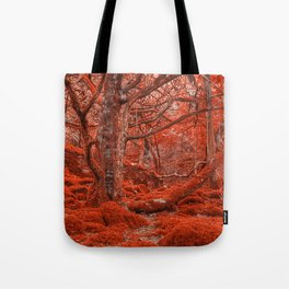Ruby Moss Forest Tote Bag