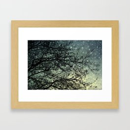 Starry Sky Framed Art Print