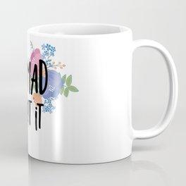 Floral Die Mad About It Coffee Mug