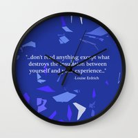 read Wall Clocks featuring Read. by Audrey Erickson