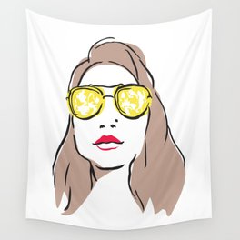 Sunglasses Wall Tapestry