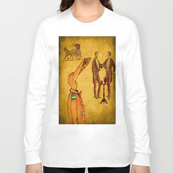 Victor and the fish  Long Sleeve T-shirt