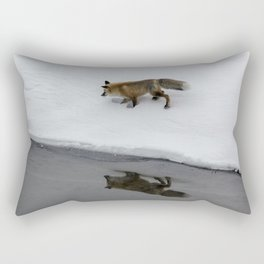 Carol M. Highsmith - Hunting Fox Rectangular Pillow