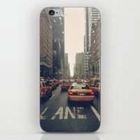 fifth element iPhone & iPod Skins featuring Fifth Avenue  by Laura Ruth