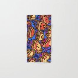 Colored Eggs Hand & Bath Towel