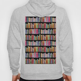 Vintage Book Library for Bibliophile Hoody