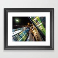 night jam Framed Art Print