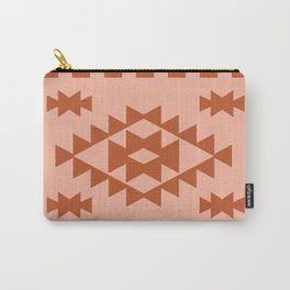 Zili in Peach Carry-All Pouch
