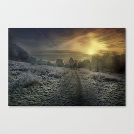 Frozen Loose Valley Canvas Print