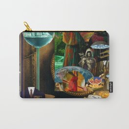 The Desert and the Smoky Town Carry-All Pouch
