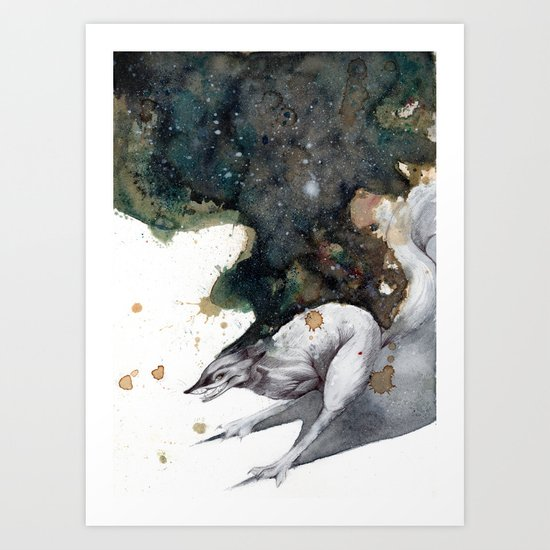 Night Runner Art Print