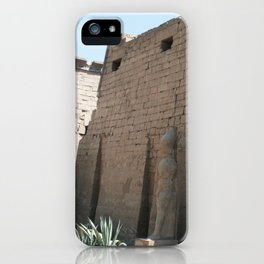 Temple of Luxor, no. 26 iPhone Case
