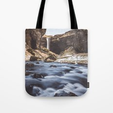 Secret waterfall Tote Bag