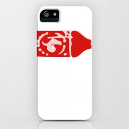 Siracha Over Everything Funny Hot Sauce Gift iPhone Case