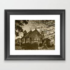 St. John the Baptist, Adel 2 (Sepia) Framed Art Print