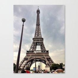 June Tour Eiffel Canvas Print