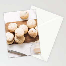 Cheddar Cheese Ham Scones Muffins, Food Photography Print, Restaurant Cuisine Art Print, Kitchen Print, Flat Lay Wall Art Stationery Cards