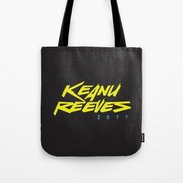Keanu 2077 Tote Bag