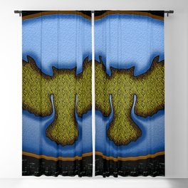 Enamel badge Blackout Curtain