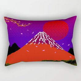 Dreams on Cherry Blossom Street Rectangular Pillow