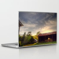 tennessee Laptop & iPad Skins featuring Tennessee Sunset by Terbo