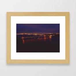 San Francisco Golden Gate Bridge Framed Art Print