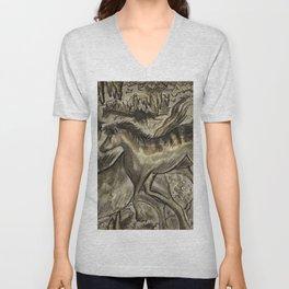 Wild Horse Cavern Unisex V-Neck