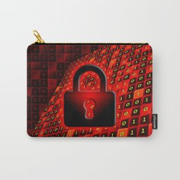 Secure data concept. Carry-All Pouch