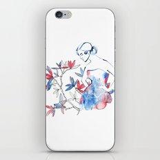 bonjour mademoiselle iPhone & iPod Skin