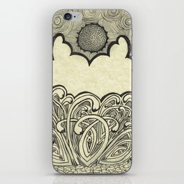 Elegant Graffiti iPhone Skin