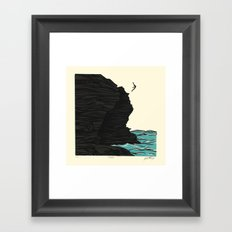 Dare Framed Art Print