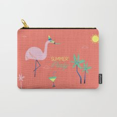 Corail Flamingo Carry-All Pouch