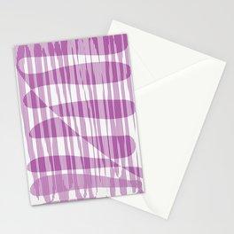 Purple/Violet Pattern Stationery Cards
