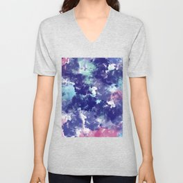 Abstract VIII Unisex V-Neck