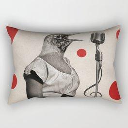 Anthropomorphic N°11 Rectangular Pillow