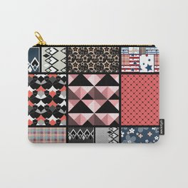 Favorite blanket and pillows . Patchwork 1 Carry-All Pouch