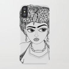 Ode to Frida Slim Case iPhone X