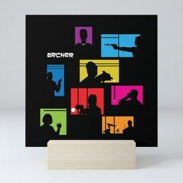 Archer Intro Mini Art Print