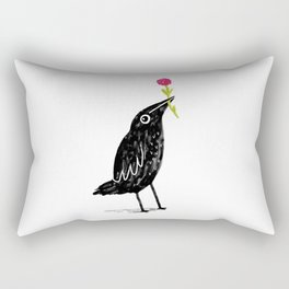 Caw Blimey Rectangular Pillow