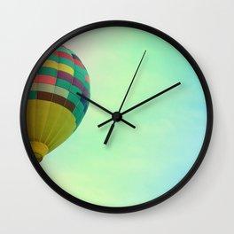 Hot Air Magic Wall Clock