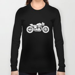 Triumph Bonneville - Cafe Racer series #3 Long Sleeve T-shirt