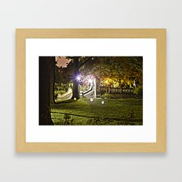 Central Park, NYC - HDR Framed Art Print