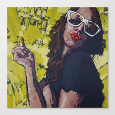Lisa Canvas Print