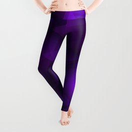Glowing purple soap circles and gentle volume bubbles of air and water. Leggings