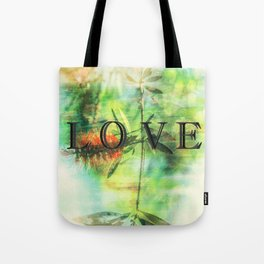 love in the wild Tote Bag