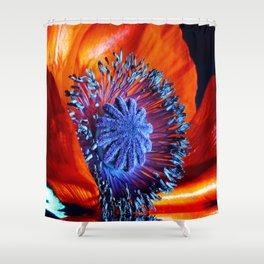 poppy dreams Shower Curtain
